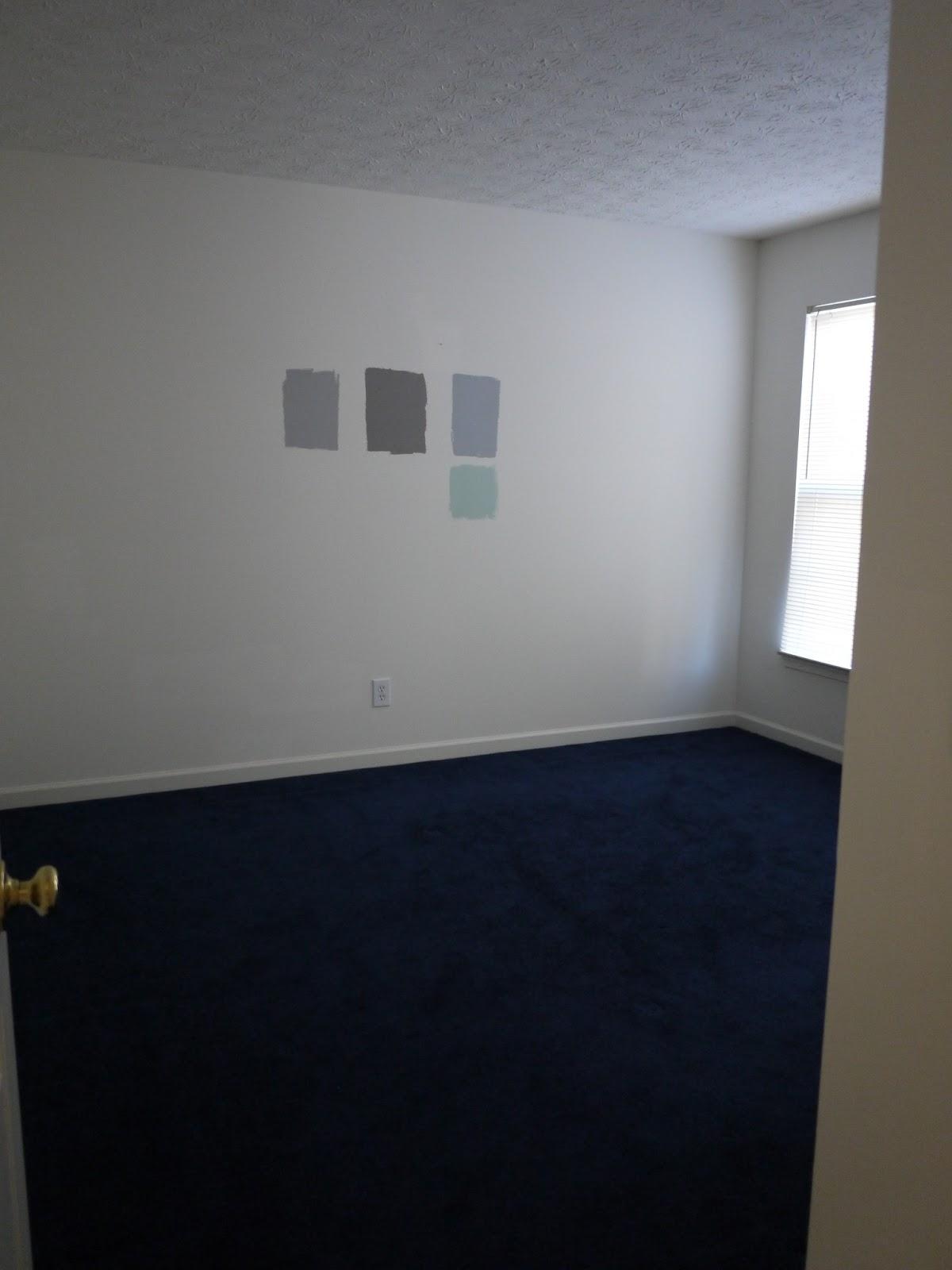 Blue Grey Carpet Wall Color Vidalondon