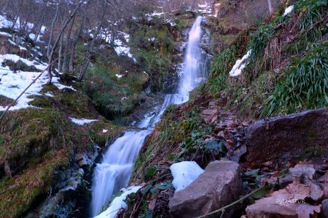 Xiblu Waterfall Asturias Spain