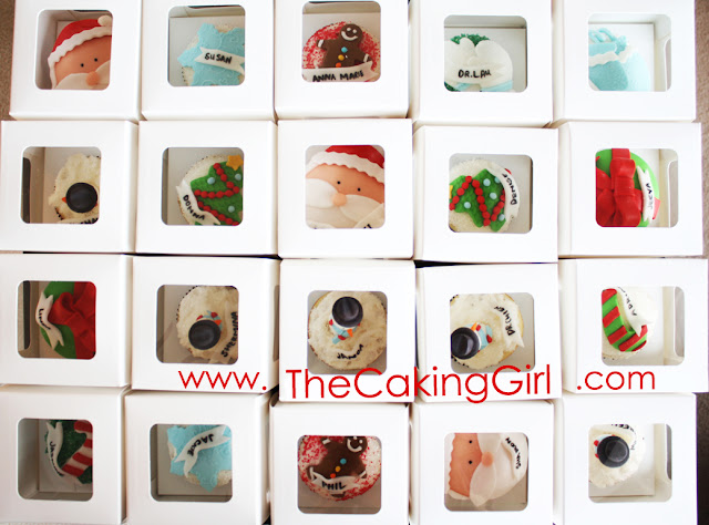 cute christmas cupcakes timeline cover