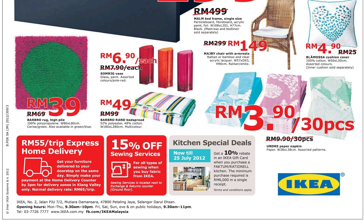 Ikea red sale sale sale 5 22 july sales nonstop for Catalogue salle de bain ikea