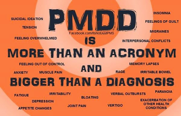 PMDD:  It's not just PMS