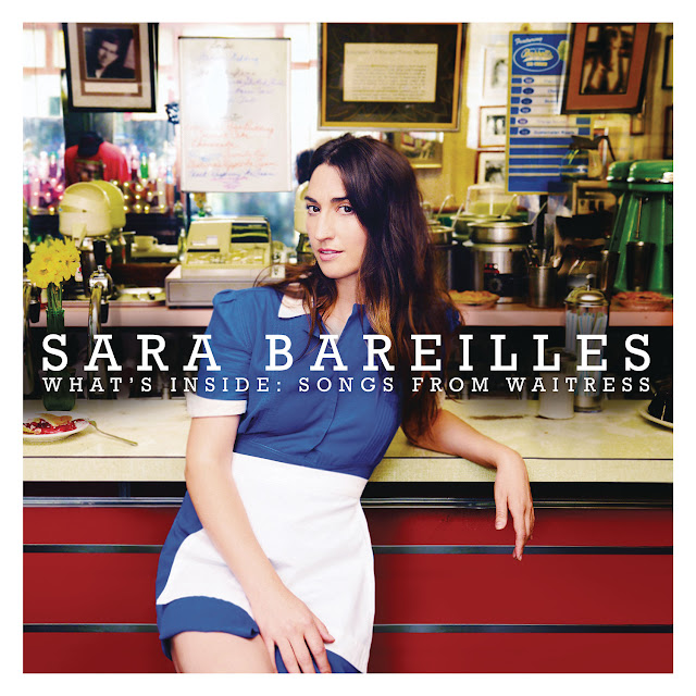 Green Pear Diaries, música, music, Sara Bareilles, What's inside: Songs fron waitress, album cover