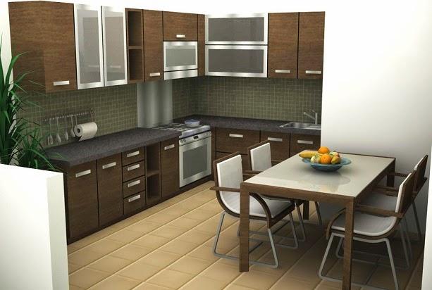 menilik harga lemari gantung dapur terbaru