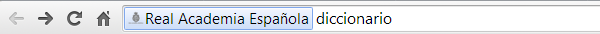 Usa el Diccionario RAE desde Google Chrome.