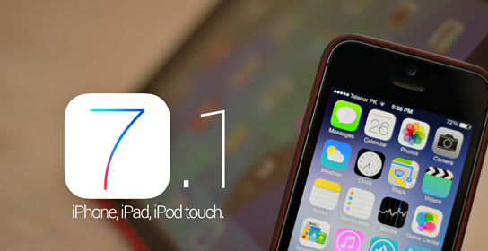 Download Direct Links iOS 7.1 IPSW For iPhone 5s, 5c, 5, 4s, 4, iPad2,3,4,air, iPod 5th gen