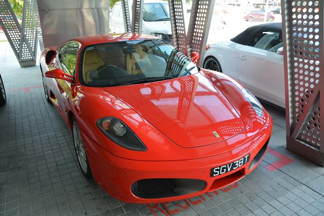 Singapore Red Ferrari