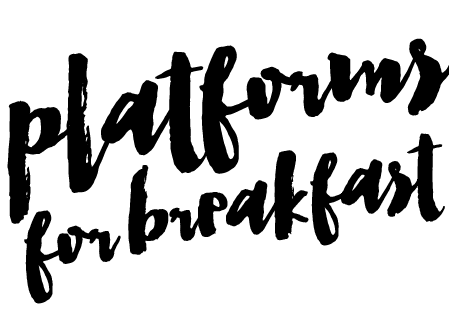 PLATFORMS FOR BREAKFAST | by Esmirna Tapia