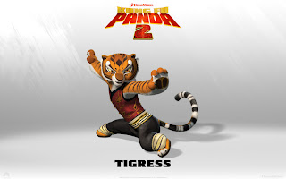 Tigress  Kungfu Panda 2 Movies Wallpaper