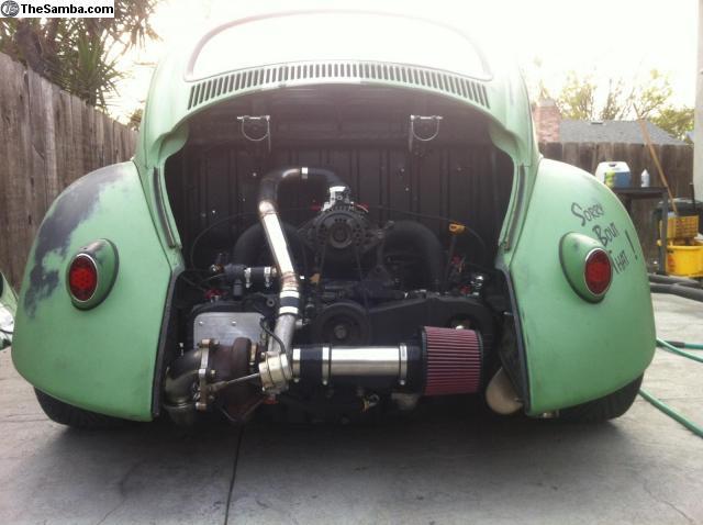 Vw Bug Turbo Kit : Daily turismo k turbo subie power vw beetle ragtop