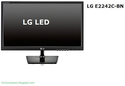 LG E2242C-BN LED monitor features, specs and review