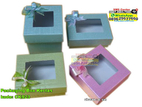 Packaging Box Kertas