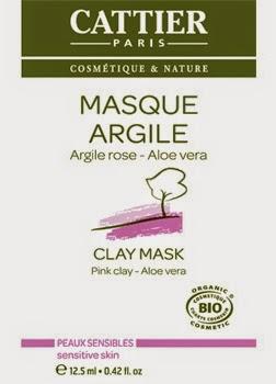 Cattier - Mascher all'argilla rosa e Aloe Vera monodose
