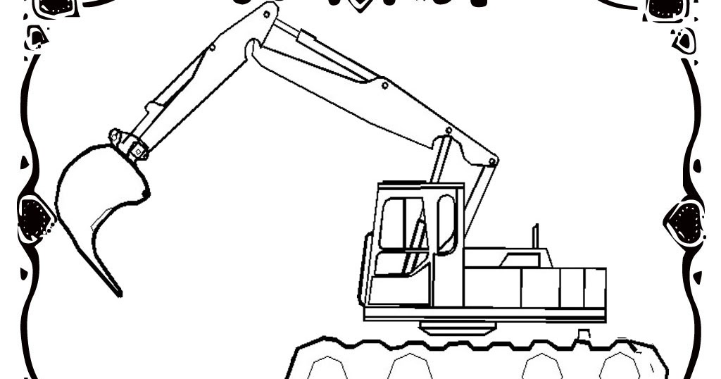 Gallery Of Free Construction Vehicles Coloring Pages Realistic