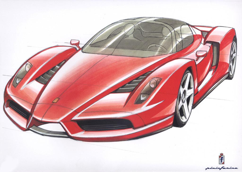 Ferrari Enzo - 2002 | Supercar Sketches Gallery on mobil opel, mobil bentley, mobil daihatsu, mobil citroen, mobil nissan, mobil subaru, mobil mercedes benz, mobil alphard, mobil pagani, mobil suzuki, mobil lexus,