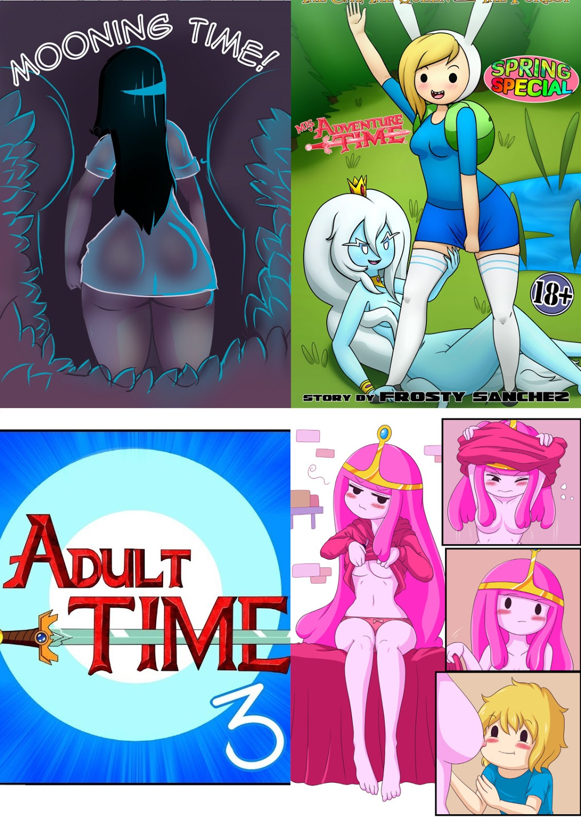 adventure time hentai games