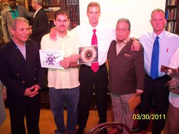De izq a der: Agustín Rangugni, J.C. León, Ariel Sigler Amaya, José Martel y Miguel Sigler Amaya