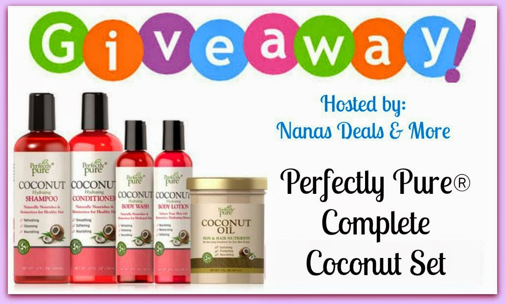 Purtian's Pride Coconut Set Giveaway
