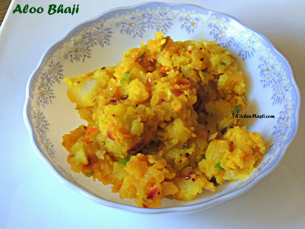 Aloo Bhaji Potato Bhaji Recipe