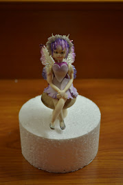 Fairy that I made in a class taught by the fabulous Frances Macnaughton class.