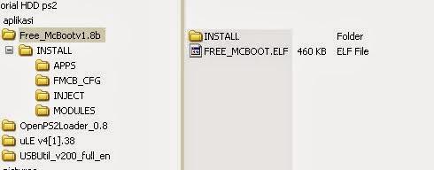 free mcboot kedalam fd/hdd