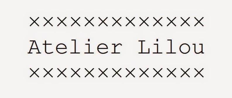 Atelier Lilou.