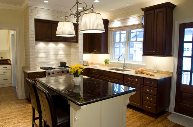 Dark Kitchen Cabinets for Various Kitchen Spaces