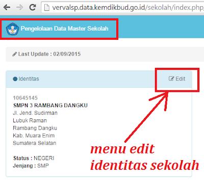 gambar halaman Vervalsp edit identitas sekolah