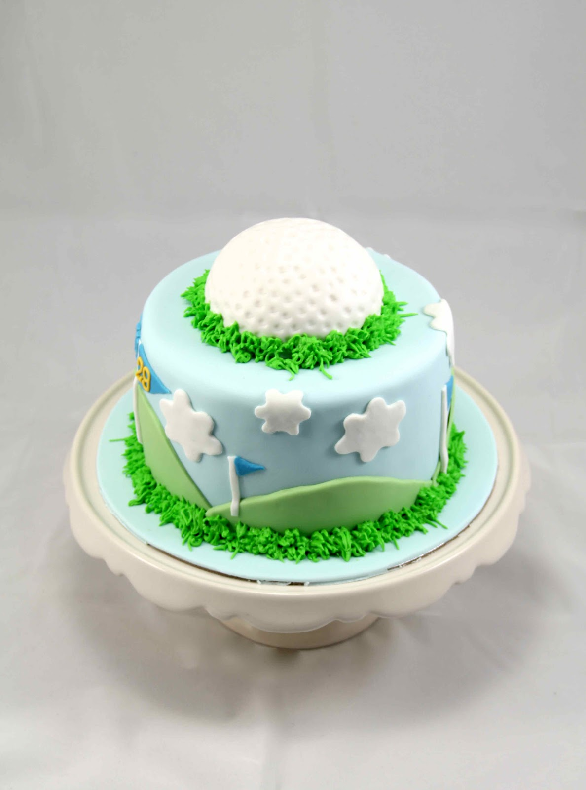 Bakerz Dad: Golf Cake