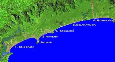 Litoral e Praias de Bertioga