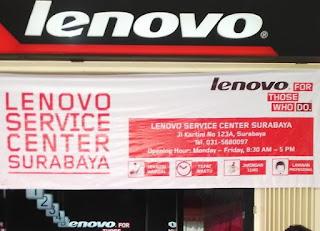 Daftar Alamat Service Center Lenovo Indonesia