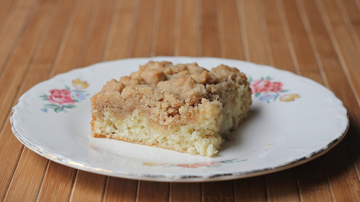 Cookistry: Classic Crumb Cake