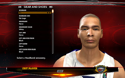 FIBA 2K13 Japeth Aguilar Cyberface Patch