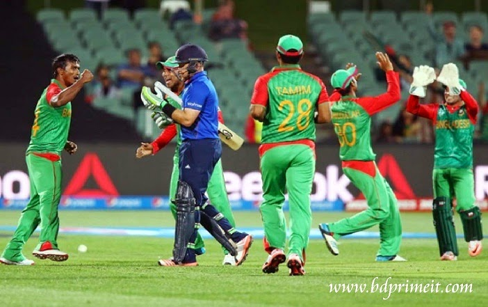 Moments of Bangladesh Vs England match in World cup 2015