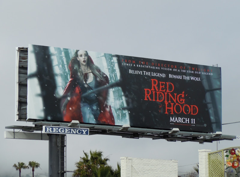 Red Riding Hood billboard