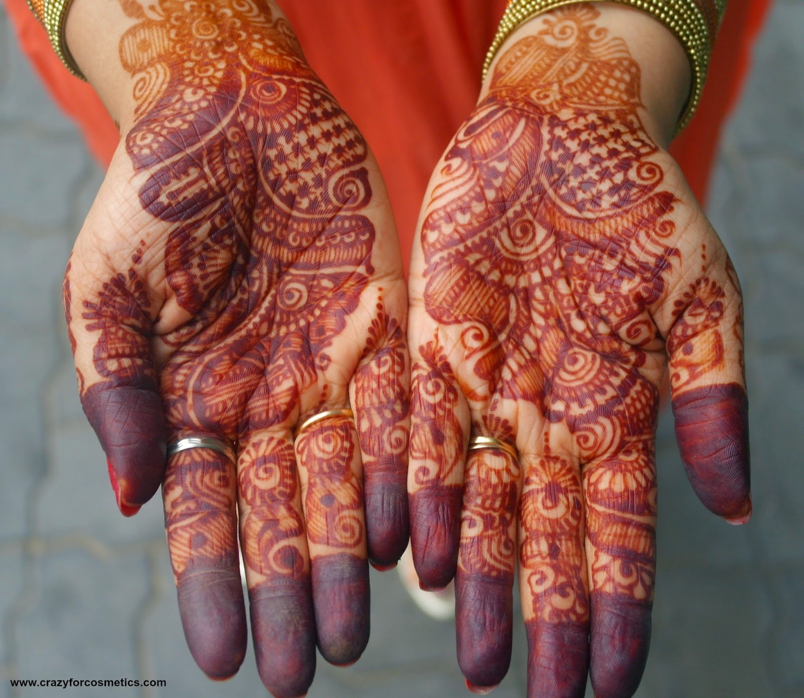 indian wedding bridal mehendi ideas