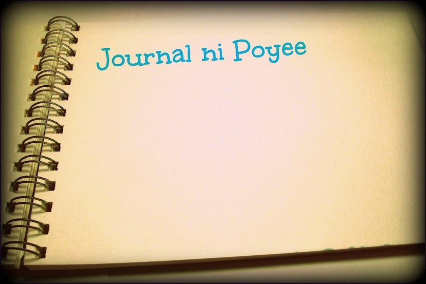 Journal ni Poyee