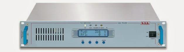 Pemancar fm RVR TEX 100 LCD