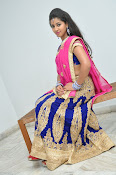 Pavani Gorgeous in half saree-thumbnail-18