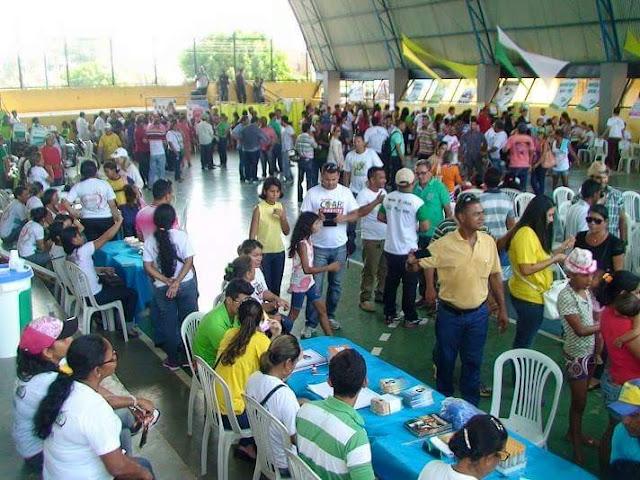Ação de  Cidadania realiza mais de 300 atendimentos no Bairro do Pêra