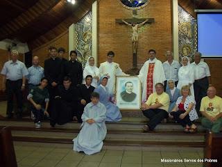 Alguns membros da Família Cusmaniana de Curitiba