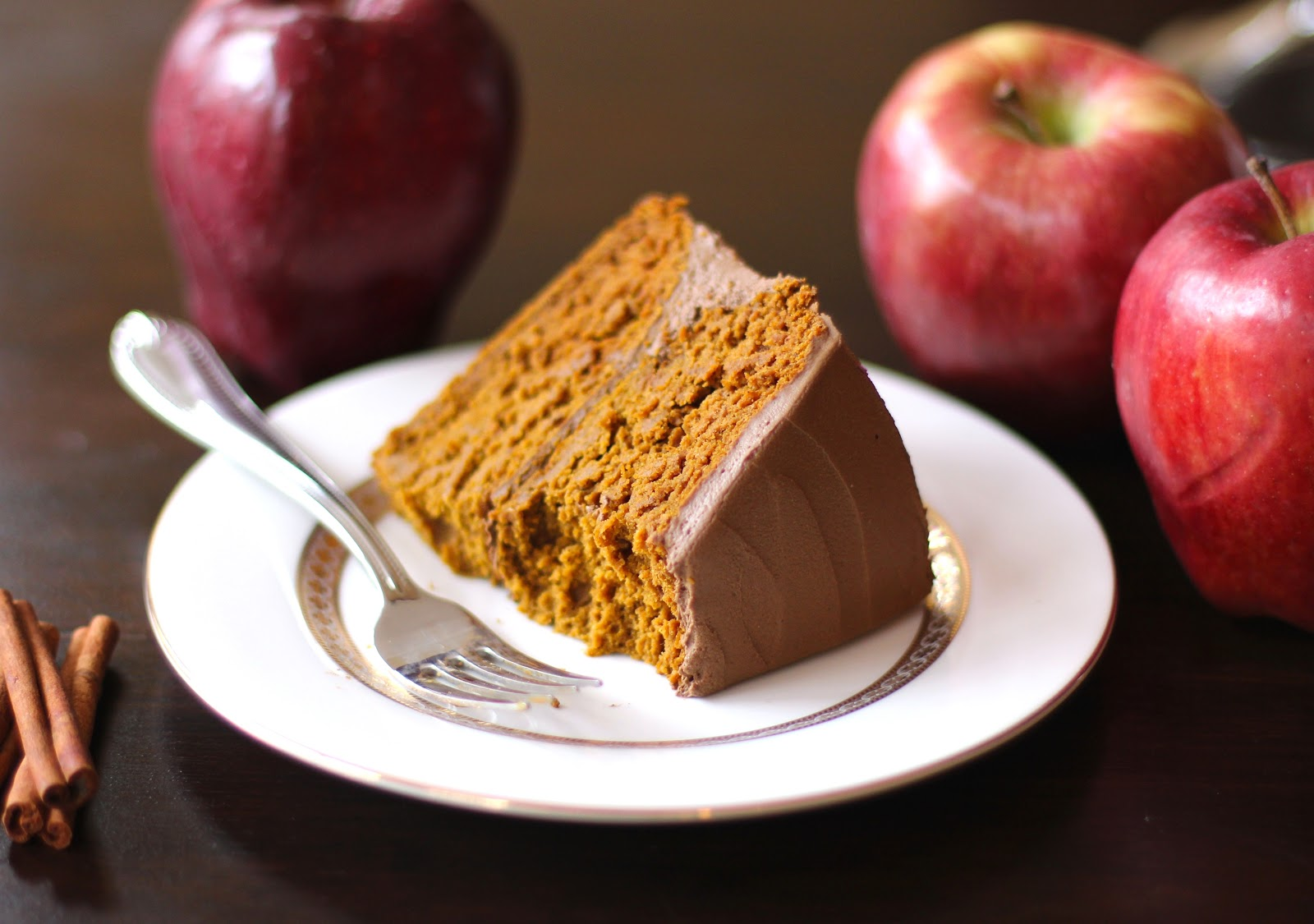... Benefits Healthy Pumpkin Orange Velvet Cake with Chocolate Frosting