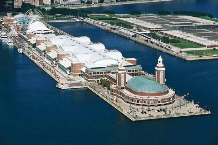 Navy pier chicago best honeymoon destinations in usa for Best honeymoon destinations in usa