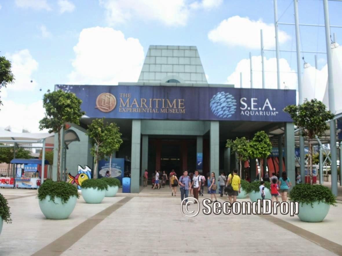 Second Drop Attractions Sea Aquarium Trip Report