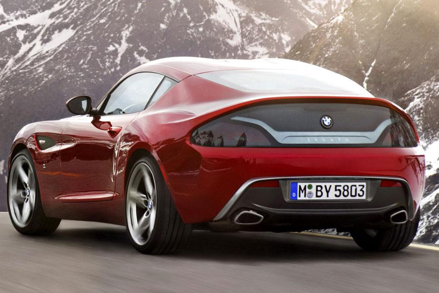 BMW Zagato Coupe One-Off Concept rear left 2