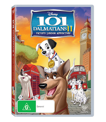 101 Dalmatians 2 DVD Disney Giveaway Review