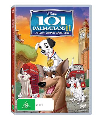 101 Dalmatians 2 DVD Disney Giveaway Review