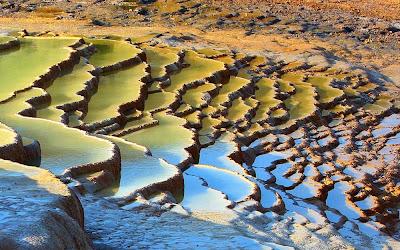 Terraços de travertino de Badab-e Surt - Irã