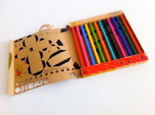 Creative Pencil Packaging Design