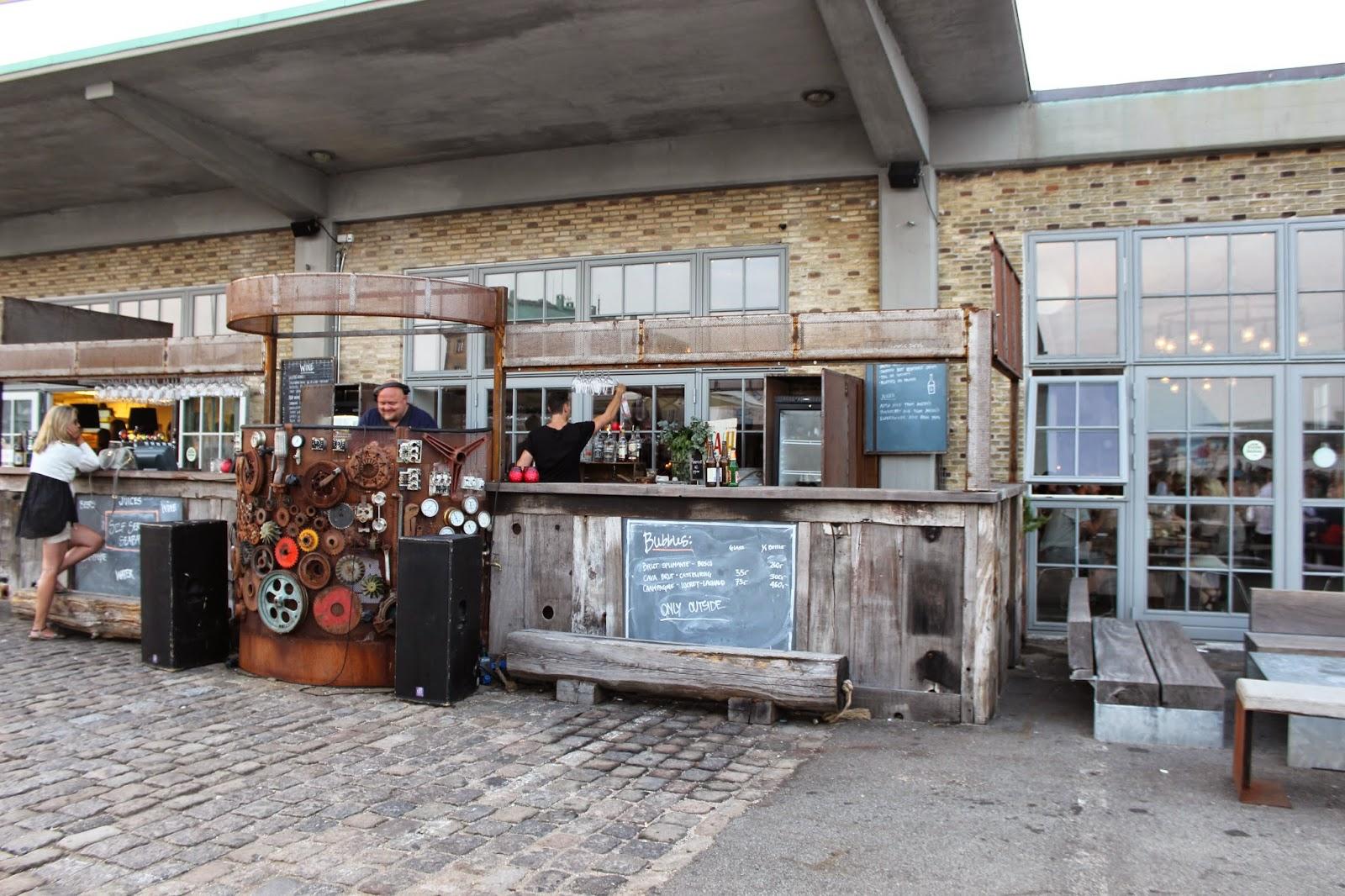 una cena indimenticabile a copenhagen: fish&chips sul porto da toldboden