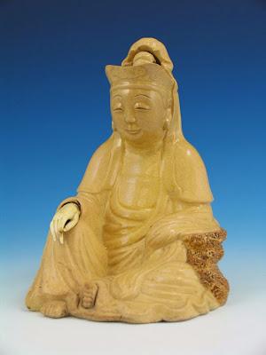 ming Buddha porcelain statue